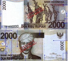 uang pecahan 2000